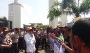 Amankan Unras, Wakapolres Serang Kota : Penjagaan Sesuai SOP