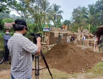 TVRI Abadikan Momen TMMD 108 Kodim 0605/Subang