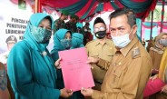 Wali Kota Serang Hadiri Acara Puncak HKG PKK Kota Serang