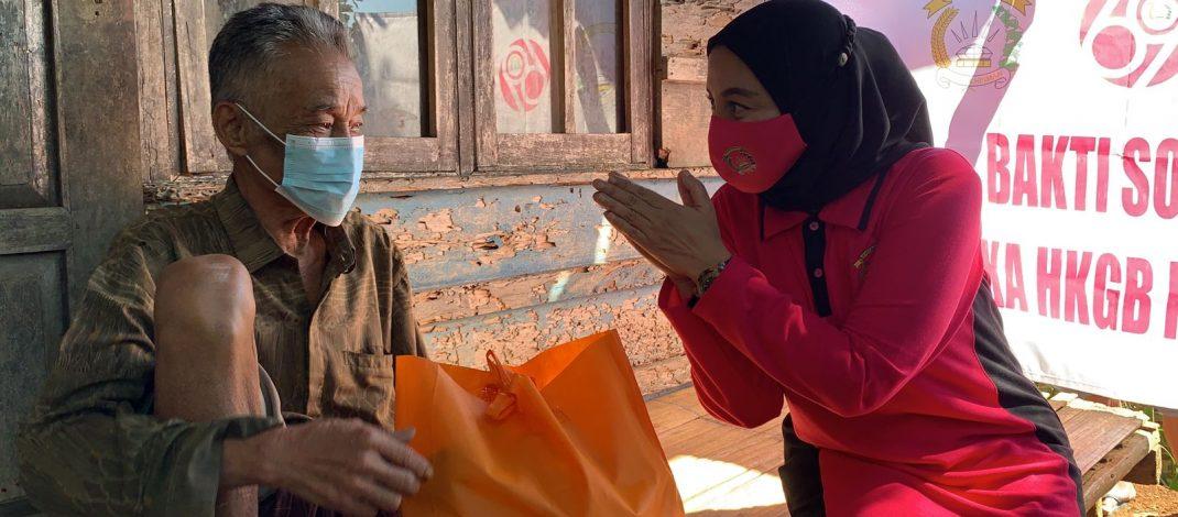 Bhayangkari Daerah Banten Kegiatan Bakti Sosial Bagi-bagi Masker