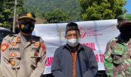 *Lepas Ratusan Paket Sembako, Camat Mandalawangi Apresiasi Pelaksanaan Baksos Bhayangkari Daerah Banten