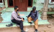 Bhabinkamtibmas Polsek Waringinkurung Laksanakan Giat DDS Antisipasi Kamtibmas Di Desa
